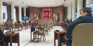 Comisión de Cambio Climático del Parlamento canario./ Cedida.
