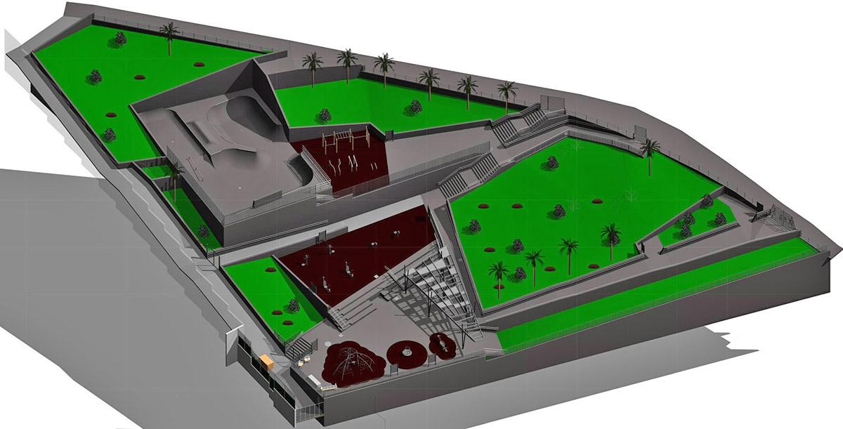 """CC-PNC: """"el Cabildo incumple el acuerdo para la remodelación del Parque Mencey Bencomo"""""""