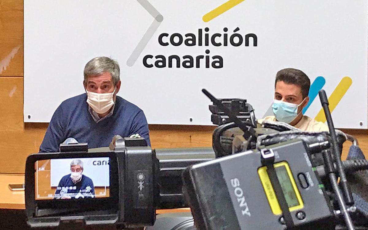 CC censura que Sánchez viaje 7 veces a Cataluña en los últimos 15 días y siga sin fecha para Canarias