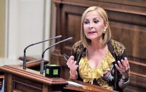 Australia Navarro, Presidenta del Partido Popular de Canarias y portavoz del Grupo Popular en el Parlamento autonómico./ Cedida.