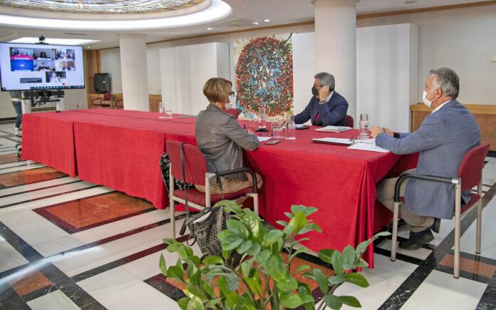 Reunión del Consejo Asesor de Canarias./ Cedida.