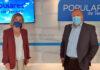 Los diputados nacionales del PP, Ana Zurita y Sebastián Ledesma./ Cedida.