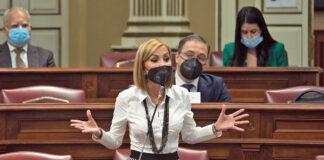Australia Navarro, presidenta del Partido Popular de Canarias./ Cedida.