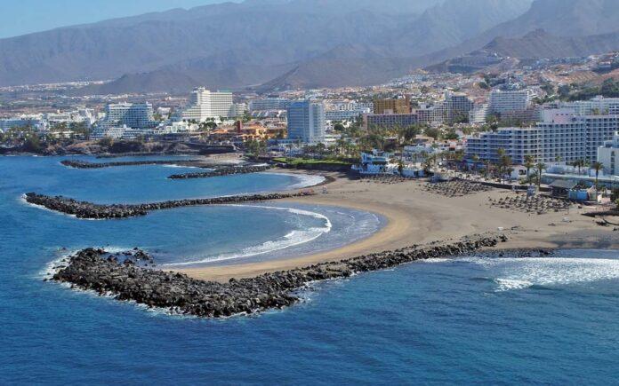 Costa de Adeje, isla de Tenerife./ Cedida.