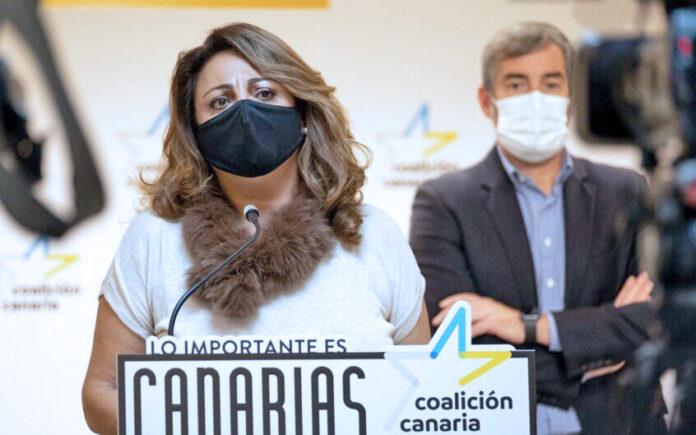 Cristina Valido, secretaria ejecutiva de Derechos Sociales de CC-PNC./ Cedida.