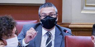 Dámaso Arteaga, concejal de Infraestructuras./ Cedida.