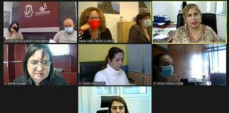 Reunión de la Comisión de Política Social de la FECAI./ Cedida.