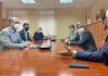 Reunión de trabajo en Gran Canaria con miembros de la Federación del Transporte de Canarias./ Cedida.