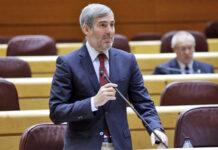 Fernando Clavijo, senador por la Comunidad Autónoma./ Cedida.