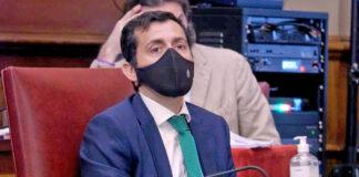 Juan José Martínez, portavoz del grupo municipal CC-PNC./ Cedida.