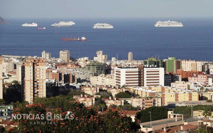 Vista parcial de Santa Cruz de Tenerife./ ©Manuel Expósito.