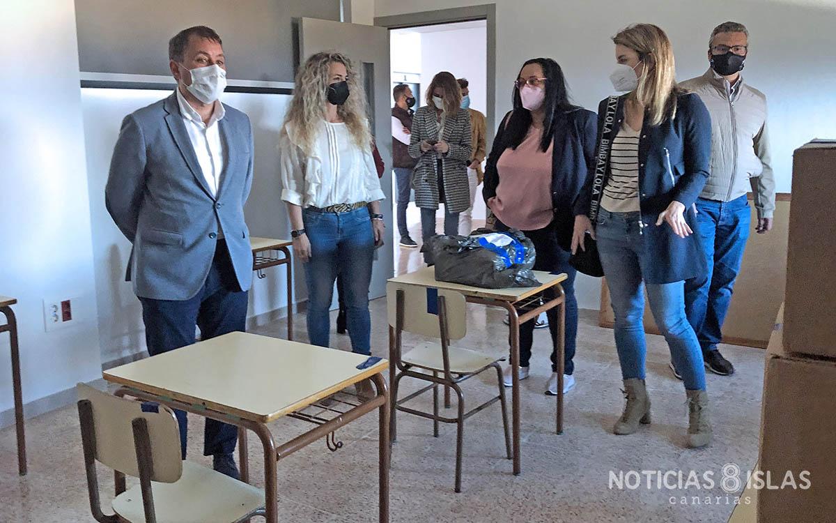 Santa Cruz habilita el Tena Artigas como colegio temporal para los alumnos del CEIP San Fernando