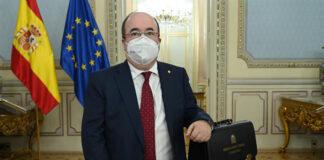 El ministro Miquel Iceta./ Borja Puig de la Bellacasa.