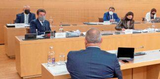 Pleno del Cabildo Insular de Tenerife del 1 de marzo de 2021./ Cedida.