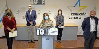 Los diputados de CC-PNC por Tenerife./ Cedida.