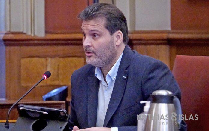 José Ángel Martín, concejal del PSOE en Santa Cruz de Tenerife./ Cedida.