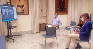 Sesión constitutiva del Tagoror Centro-Ifara./ Cedida.