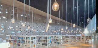 Sala de lectura, Biblioteca Municipal Central de Santa Cruz de Tenerife./ Cedida.
