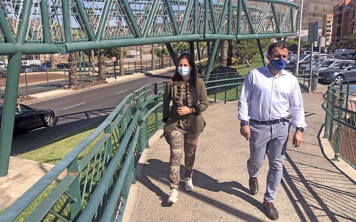 El PP censura que el Cabildo retrase el soterramiento de la Avenida Chayofita en Los Cristianos