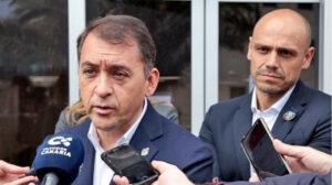 José Manuel Bermúdez, alcalde de Santa Cruz de Tenerife./ Cedida.
