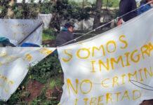 Campamento de Las Raíces./ Podemos Canarias.
