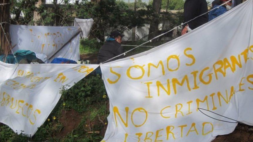 Unidas Podemos exige que se solucionen las deficiencias de los campamentos de migrantes