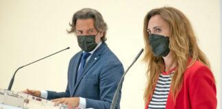 Rueda de prensa del Informe de Migraciones Canarias 2020 por la directora general de CEAR./ Cedida.