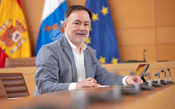 José Gregorio Martín Plata ha presentado su dimisión como consejero de Planificación del Territorio, Patrimonio Histórico y Turismo./ Cedida.