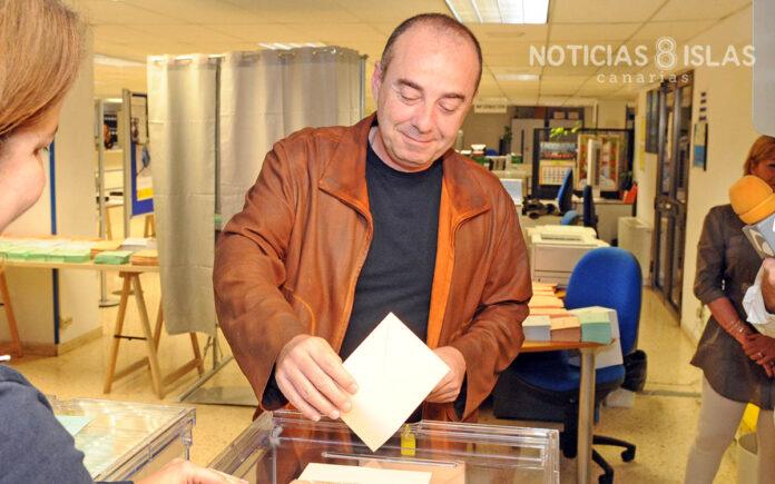 Miguel Zerolo, elecciones mayo de 2011./ ©Manuel Expósito.