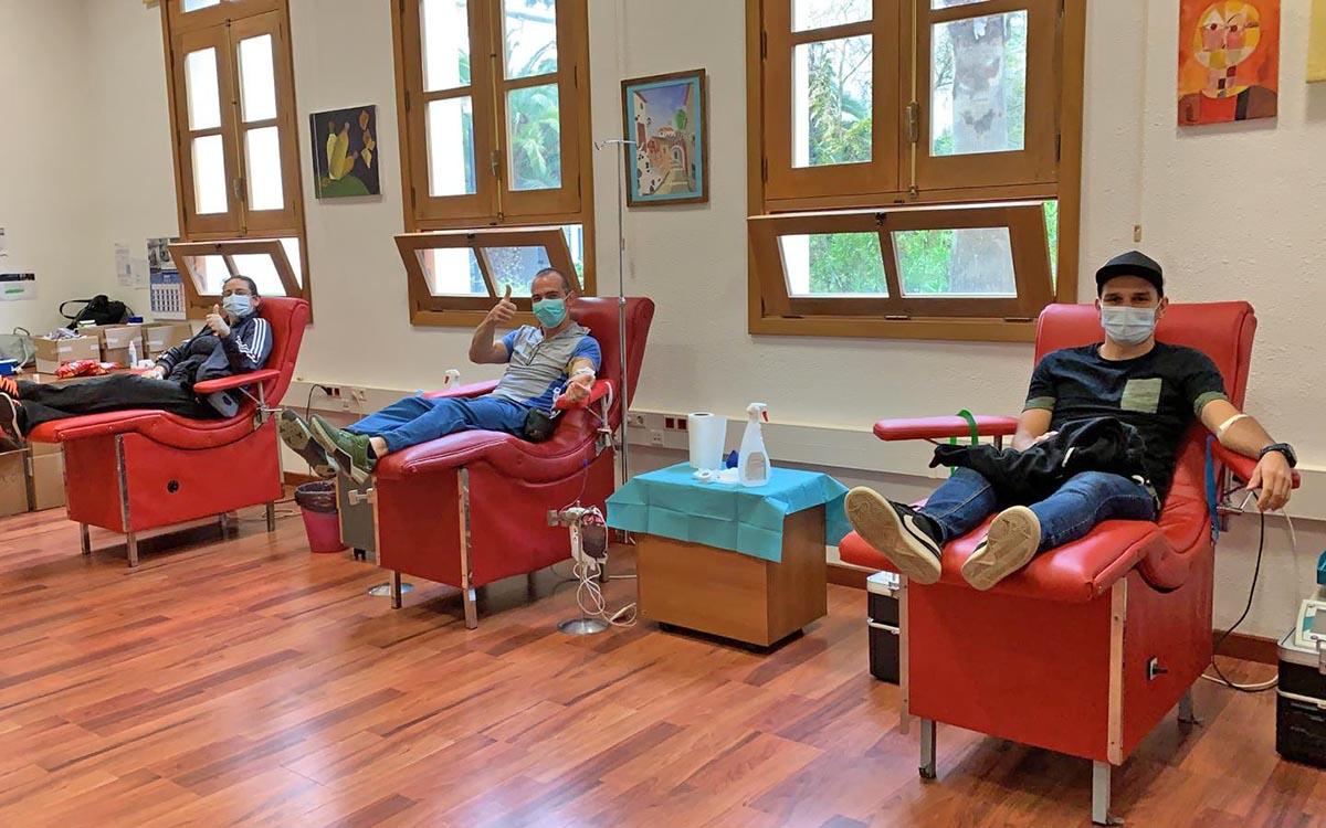 Se solicita la colaboración de los donantes de los grupos sanguíneos A+ y O+