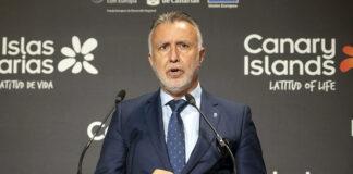 Ángel Víctor Torres, Canarias inauguró hoy su presencia en FITUR./ Cedida.