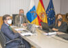 Un momento del encuentro telemático de los presidentes de las RUP./ Cedida.
