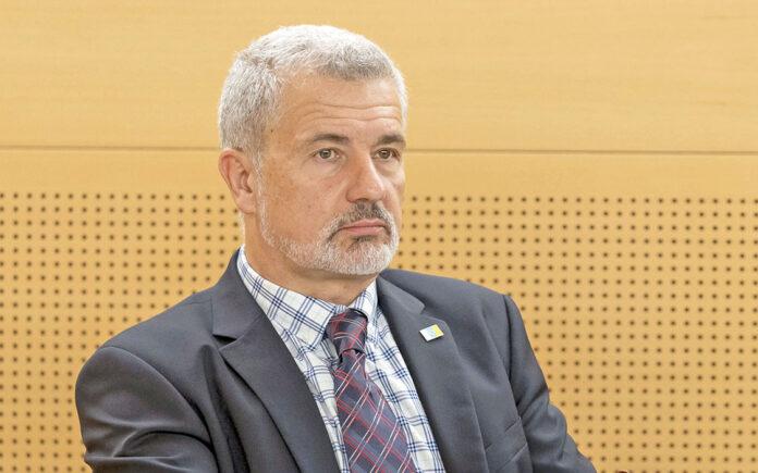 Antolín Bueno Jorge, Consejero de CC-PNC en el Cabildo de Tenerife./ Cedida.