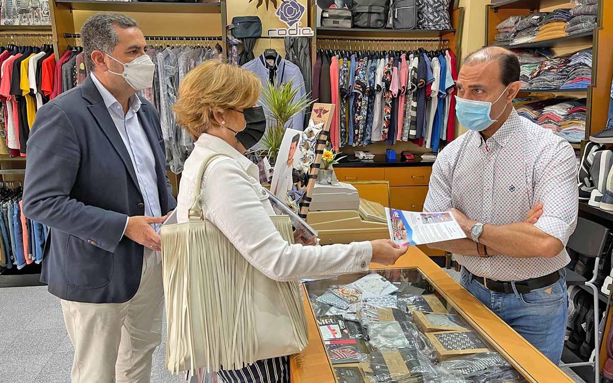 El PP explica su Bono Consumo en las ZCA de Las Palmas como herramienta para reactivar la economía