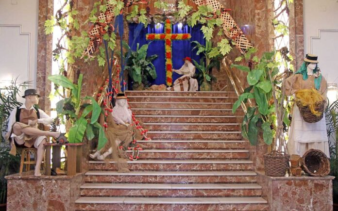 Exposición de trajes tradicionales de Canarias./ Cedida.