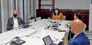 Reunión del Comité Ejecutivo de la Federación Canaria de Municipios./ Cedida.