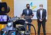 Un momento de la rueda de prensa ofrecida por Pablo Rodríguez y Fernando Clavijo./ Cedida.