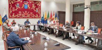 Reunión de la Junta de Portavoces./ Cedida.