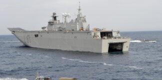 """LHD """"Juan Carlos I"""" (L-61)./ Armada Española."""