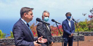 Planas se compromete a proteger al plátano de Canarias en el marco de la Ley de la Cadena Alimentaria./ Cedida.
