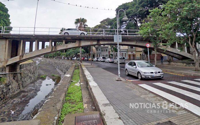 Puente que une San Andrés con la carretera de Taganana./ © Manuel Expósito.