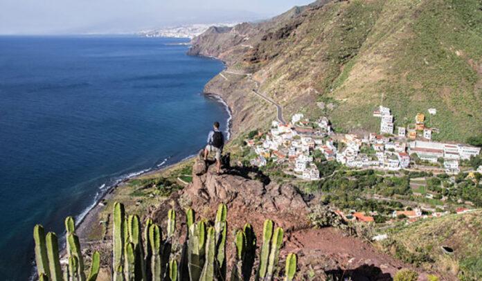 Paseo Inciensal de Igueste de San Andrés./ Cedida.