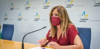 Rosa Dávila, secretaria de organización de CC de Tenerife y diputada nacionalista./ Cedida.