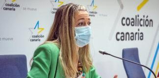 Verónica Meseguer, secretaria general de Jóvenes Nacionalistas de Tenerife (JNT)./ Cedida.