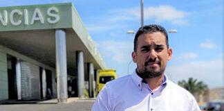 Yoné Caraballo, secretario de Bienestar de Nueva Canarias en Lanzarote./ Cedida.