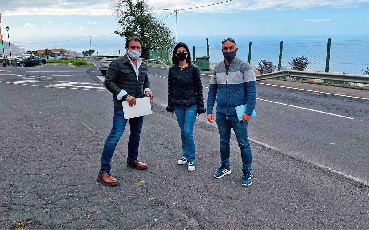El PP exige al Cabildo que agilice las obras de la carretera de acceso al Teide por La Orotava