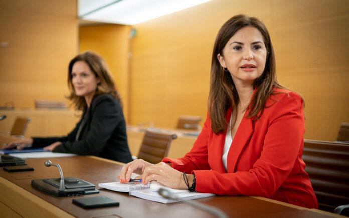 Águeda Fumero y Zaida González, Consejeras populares en el Cabildo de Tenerife./ Cedida.