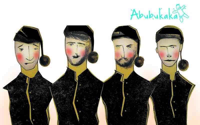 Abubukaka actúa este fin de semana en el Teatro Guimerá con un espectáculo divertido, absurdo y surrealista