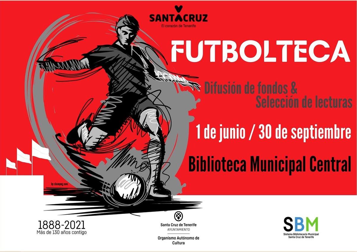 La Biblioteca Municipal expone publicaciones relacionadas con el mundo del fútbol
