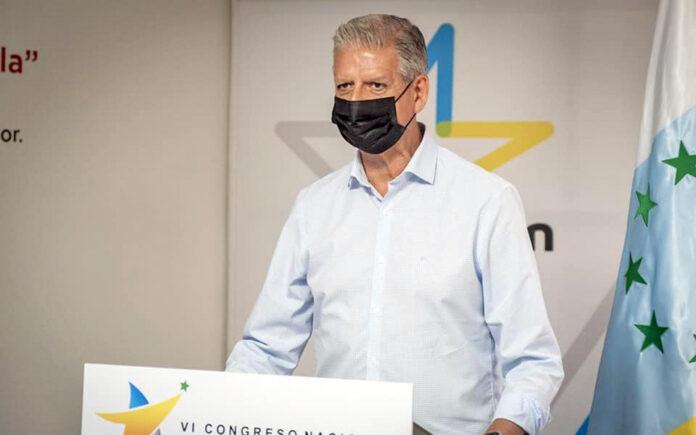 Francisco Linares, secretario general insular de CC de Tenerife./ Cedida.